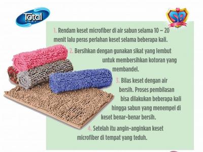Tips Mencuci Keset MicroFiber