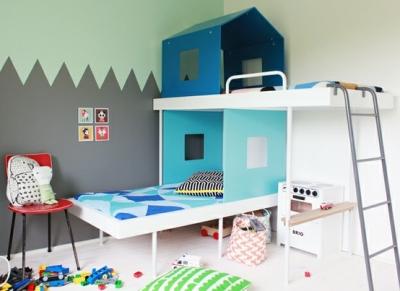 Ide untuk kamar tidur si Kecil yang kecil
