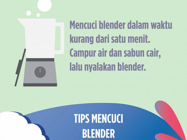 Tips Mencuci Blender